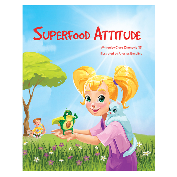 Paperback Book - Superfood Attitude